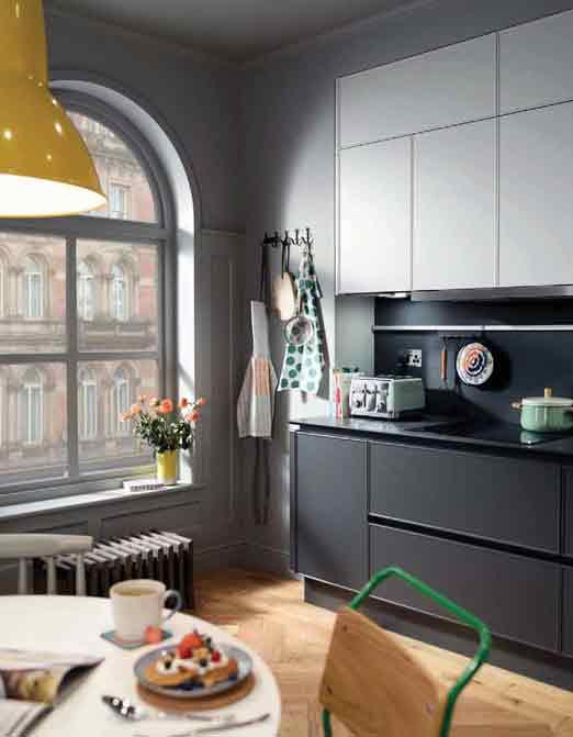 Sleek Kitchen Designs smarteco Handleless Kitchen Design For Sleek Look