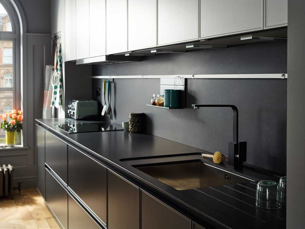 Interesting Handleless Kitchen Design Contemporary - Best Image Home ...